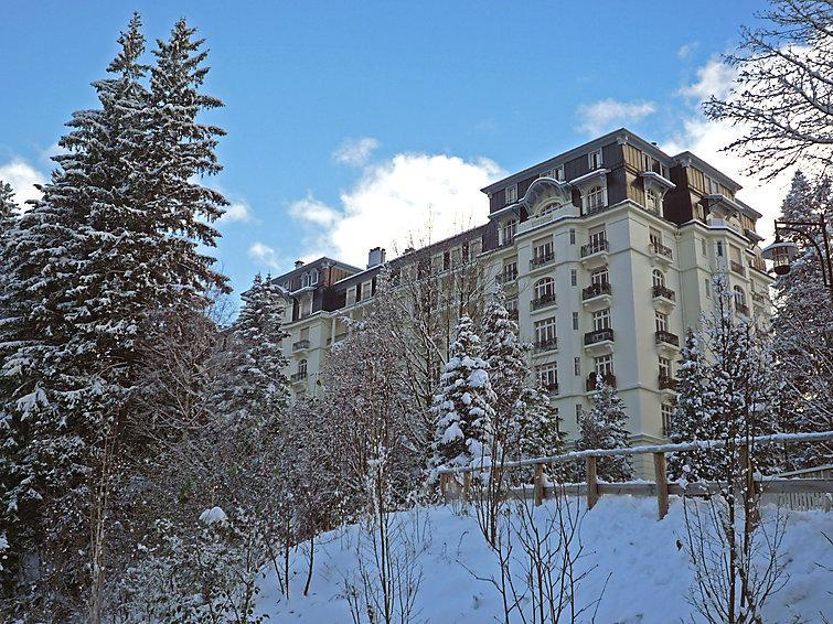 Holiday in mountain resort 2 room apartment 4 people (3) - Le Majestic - Chamonix - Winter outside