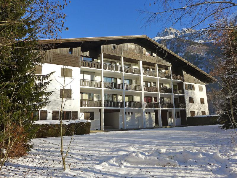 Holiday in mountain resort 1 room apartment 4 people (1) - Le Miage - Chamonix - Winter outside