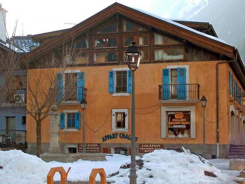 Holiday in mountain resort 3 room apartment 5 people (1) - Le Sommet du Bourg - Chamonix - Winter outside