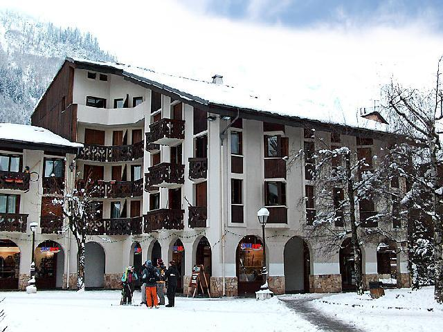 Holiday in mountain resort 1 room apartment 3 people (5) - Le Triolet - Chamonix - Winter outside