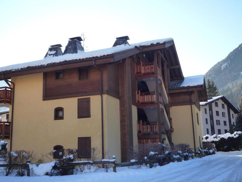 Holiday in mountain resort 3 room apartment 4 people (4) - Les Capucins - Chamonix - Winter outside
