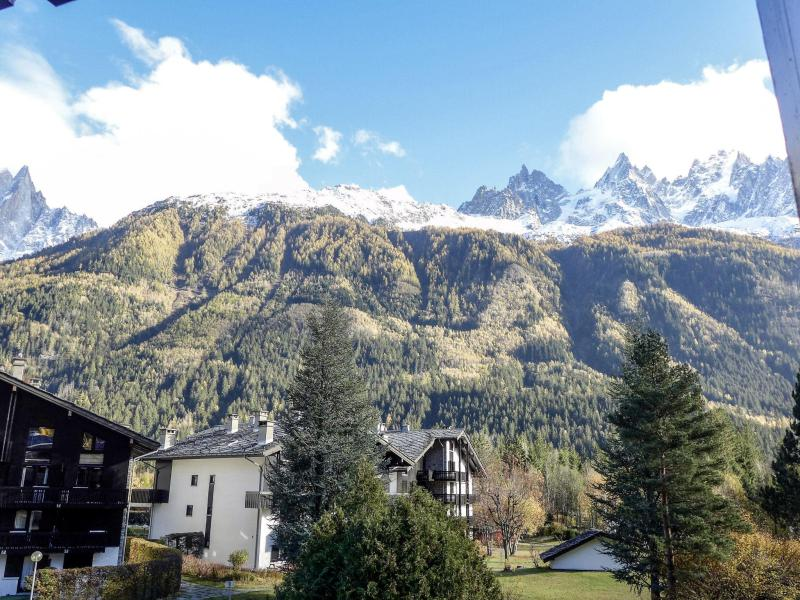 Rent in ski resort 1 room apartment 2 people (15) - Les Chalets de Champraz - Chamonix - Apartment