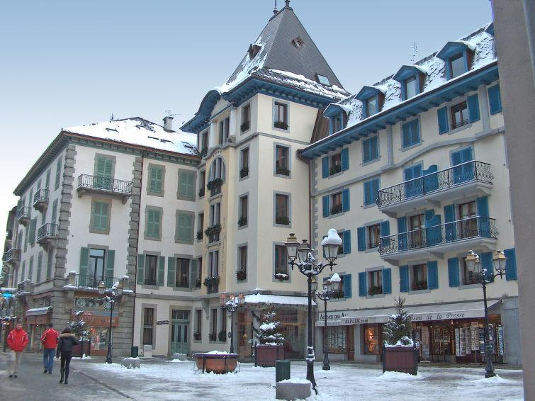 Holiday in mountain resort 1 room apartment 4 people (3) - Les Evettes - Chamonix - Winter outside