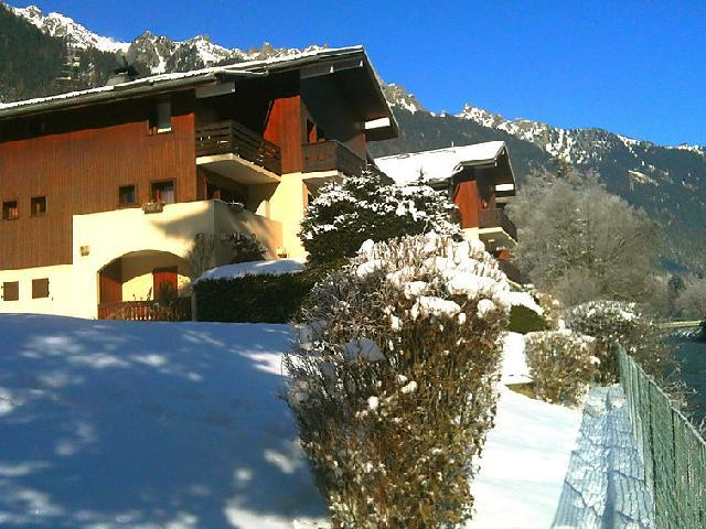 Holiday in mountain resort 1 room apartment 2 people (2) - Les Jardins du Mont-Blanc - Chamonix - Winter outside