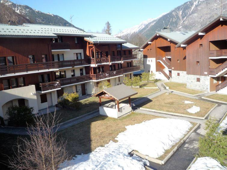 Holiday in mountain resort 1 room apartment 4 people (4) - Les Jardins du Mont-Blanc - Chamonix - Winter outside