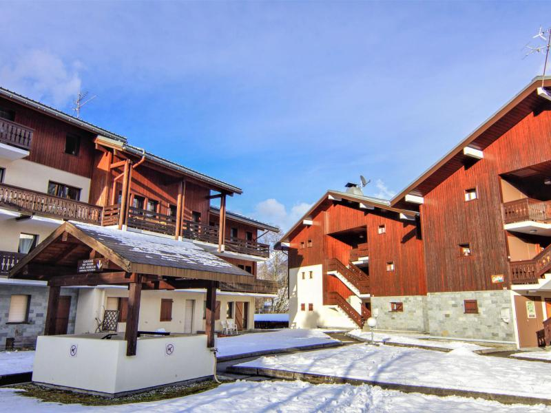 Vakantie in de bergen Les Jardins du Mont-Blanc - Chamonix - Buiten winter