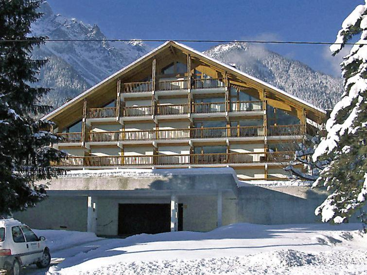 Holiday in mountain resort 1 room apartment 4 people (1) - Les Pècles - Chamonix - Winter outside
