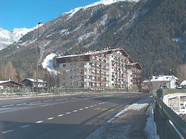 Holiday in mountain resort 1 room apartment 2 people (1) - Les Périades - Chamonix - Winter outside