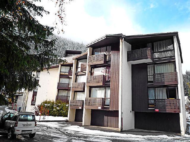 Vakantie in de bergen Appartement 1 kamers 3 personen (1) - Lognan - Chamonix - Buiten winter