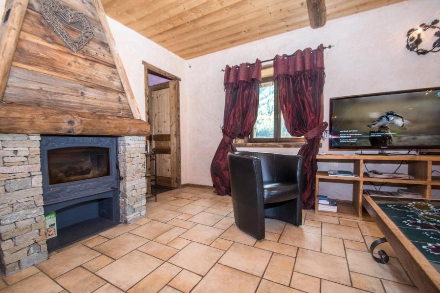 Location au ski Appartement 4 pièces 8 personnes - Maison la Ferme A Roger - Chamonix - Séjour
