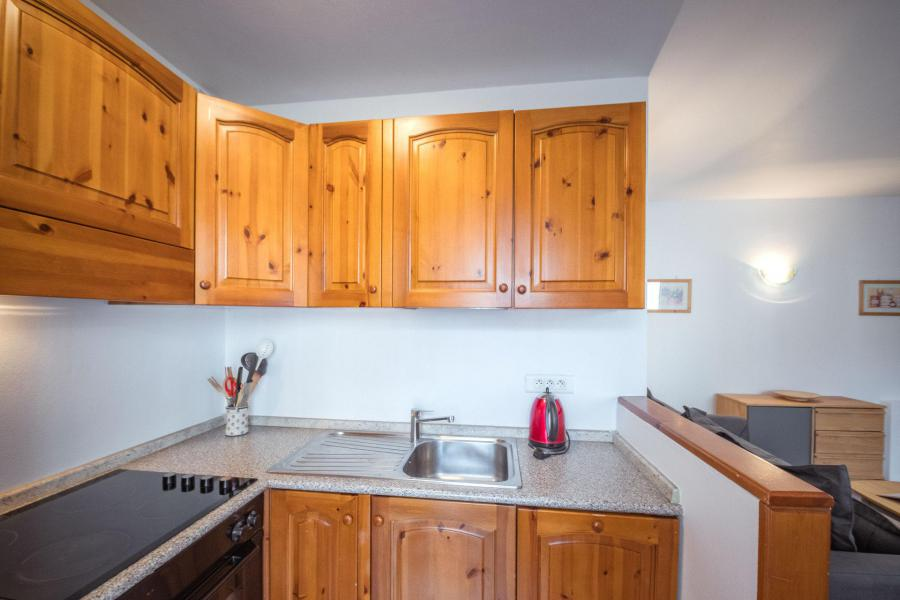 Location au ski Appartement 2 pièces 4 personnes (rose) - Residence Androsace - Chamonix