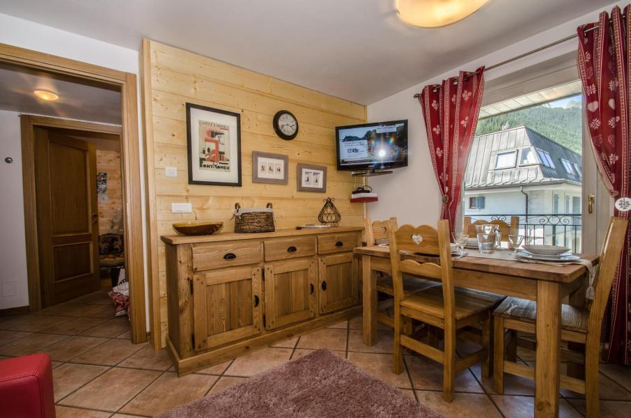 Location au ski Appartement 2 pièces 4 personnes (roseau) - Residence Androsace - Chamonix