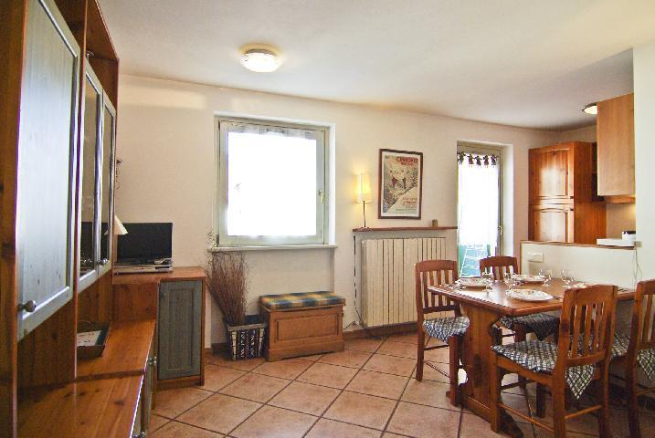 Location au ski Appartement 2 pièces 4 personnes (rose) - Residence Androsace - Chamonix - Banquette