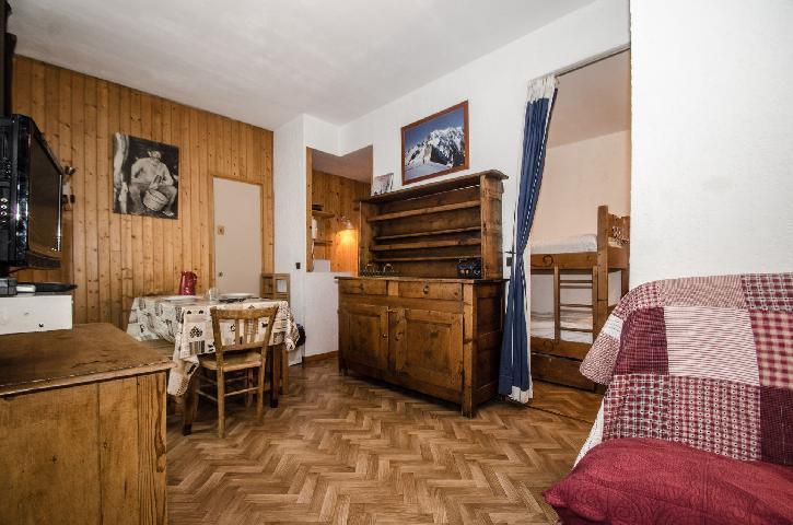 Location au ski Studio 4 personnes - Residence Carlton - Chamonix - Lits superposés