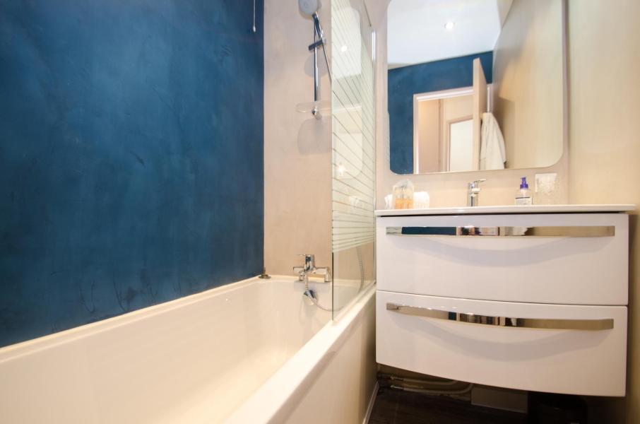 Location au ski Appartement 2 pièces 4 personnes (INDIA) - Résidence Chamois Blanc - Chamonix - Salle de bains