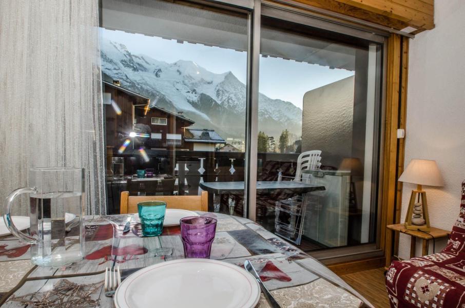 Location au ski Studio 3 personnes (LAURIER) - Residence Clos Du Savoy - Chamonix - Extérieur hiver