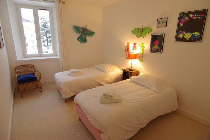 Location au ski Appartement 3 pièces 4 personnes - Residence Cursal - Chamonix - Lit simple
