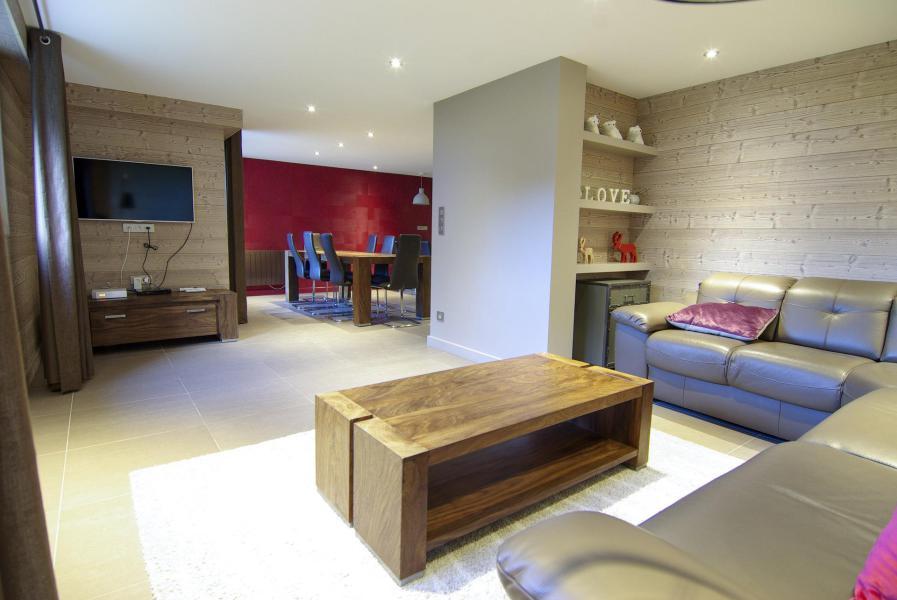 Location au ski Appartement 4 pièces 8 personnes - Residence Espace Montagne - Chamonix - Séjour