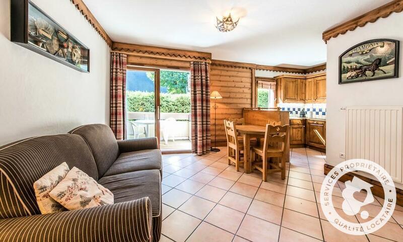 Vacances en montagne Appartement 2 pièces 4 personnes (Prestige 30m²) - Résidence la Ginabelle - Maeva Home - Chamonix - Extérieur hiver