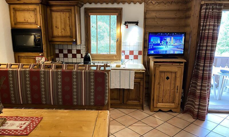 Vacances en montagne Appartement 3 pièces 6 personnes (Sélection 45m²-1) - Résidence la Ginabelle - Maeva Home - Chamonix - Extérieur hiver