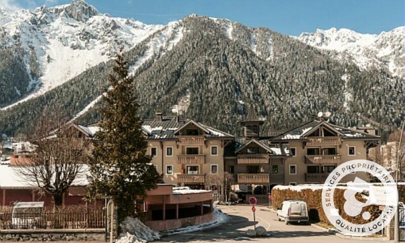 Vacances en montagne Résidence la Ginabelle - Maeva Home - Chamonix - Extérieur hiver