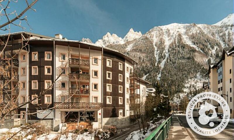 Rent in ski resort Résidence la Rivière - Maeva Home - Chamonix - Winter outside