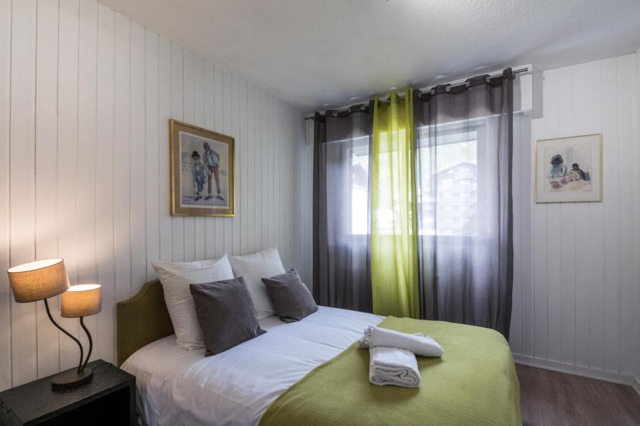 Rent in ski resort 3 room apartment 4 people (AGATA) - Résidence le Clos du Savoy - Chamonix - Living room