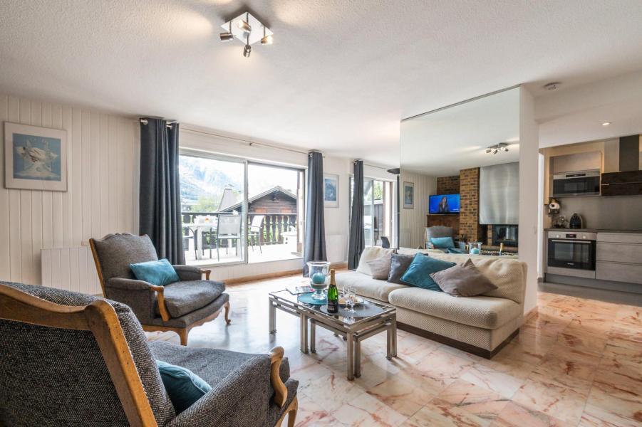 Rent in ski resort 3 room apartment 4 people (AGATA) - Résidence le Clos du Savoy - Chamonix - Terrace