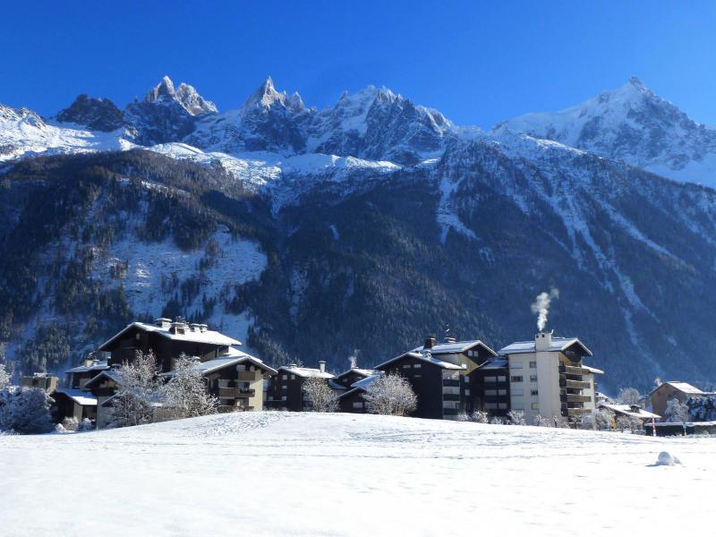 Location au ski Studio 2 personnes (Vegas) - Résidence le Clos du Savoy - Chamonix