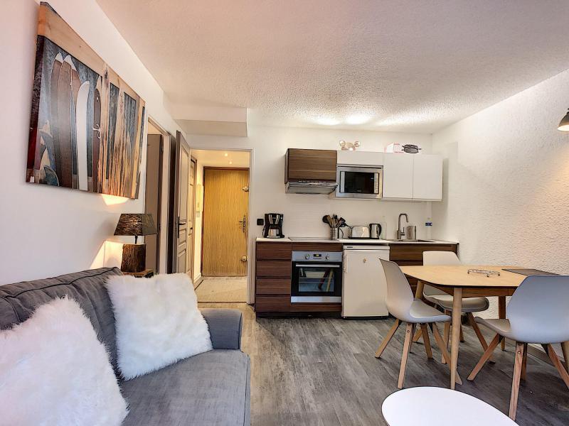 Location au ski Appartement 2 pièces 4 personnes (Opus) - Résidence le Clos du Savoy - Chamonix - Cuisine ouverte