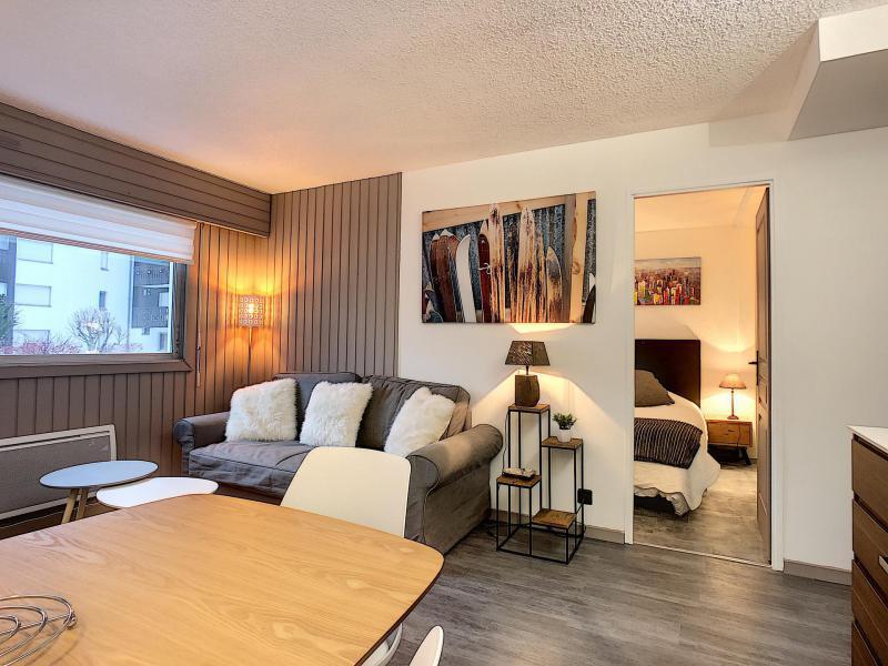 Location au ski Appartement 2 pièces 4 personnes (Opus) - Résidence le Clos du Savoy - Chamonix - Séjour