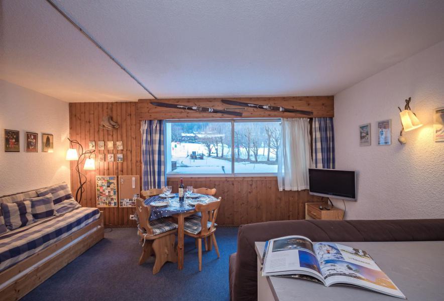Location au ski Studio 2-4 personnes (Dale) - Résidence le Clos du Savoy - Chamonix - Séjour
