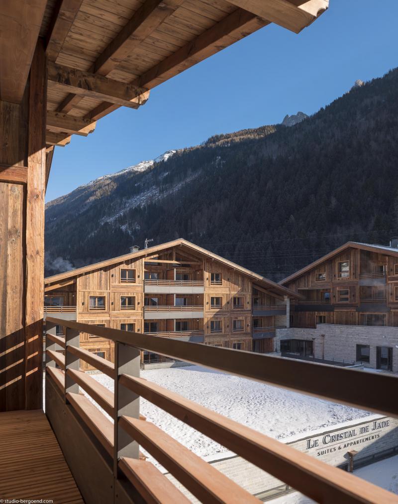 Location au ski Résidence le Cristal de Jade - Chamonix - Extérieur hiver