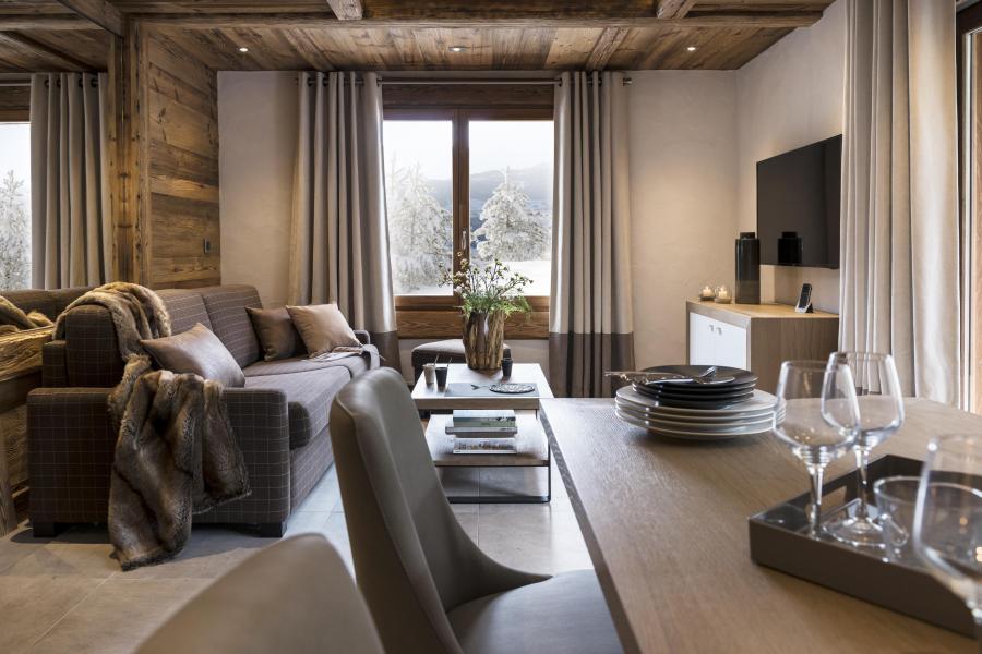 Rent in ski resort Résidence le Cristal de Jade - Chamonix - Dining area