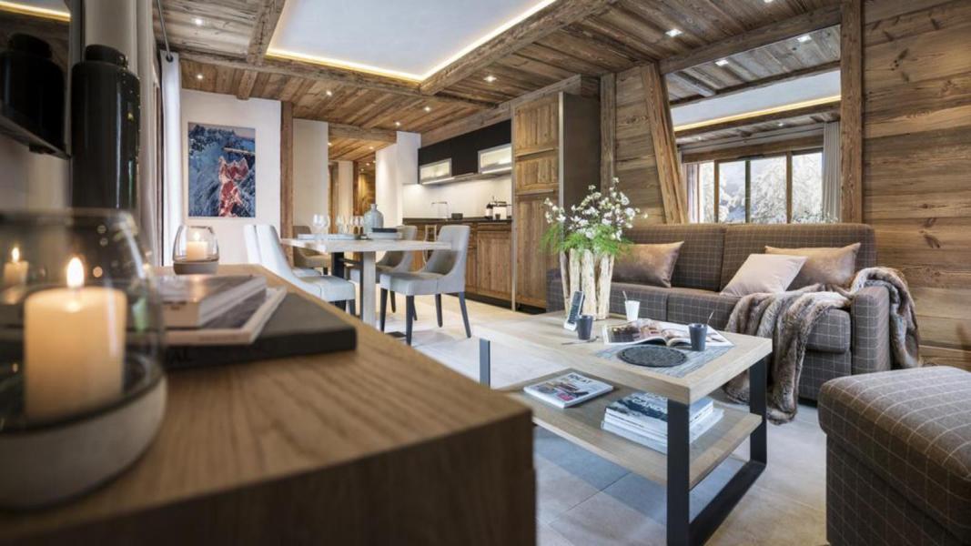 Rent in ski resort Résidence le Cristal de Jade - Chamonix - Living area