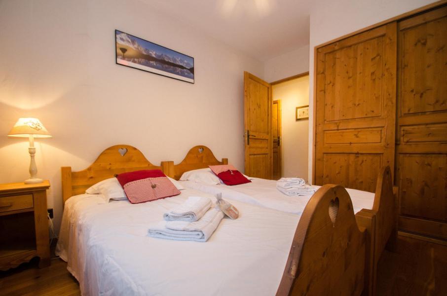 Location au ski Appartement 3 pièces 6 personnes - Résidence le Paradis - Chamonix - Chambre
