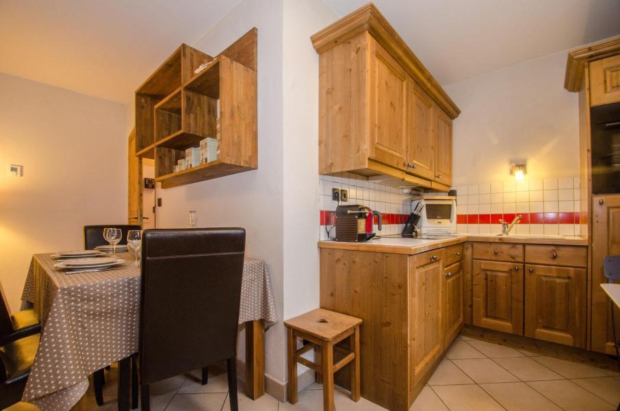 Location au ski Appartement 3 pièces 6 personnes - Résidence le Paradis - Chamonix - Cuisine