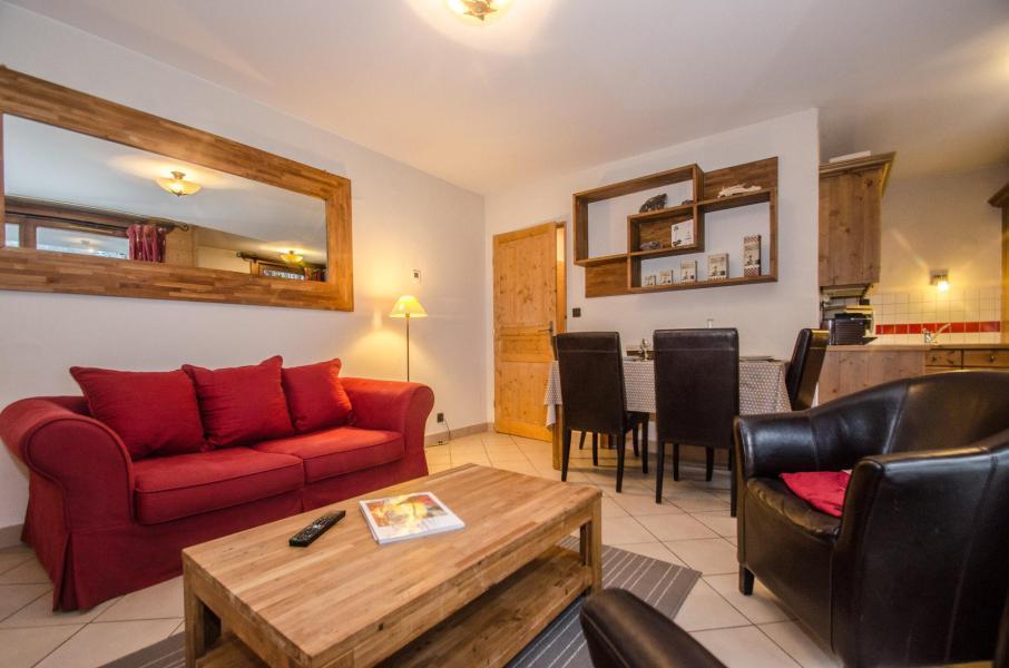 Location au ski Appartement 3 pièces 6 personnes - Résidence le Paradis - Chamonix - Séjour