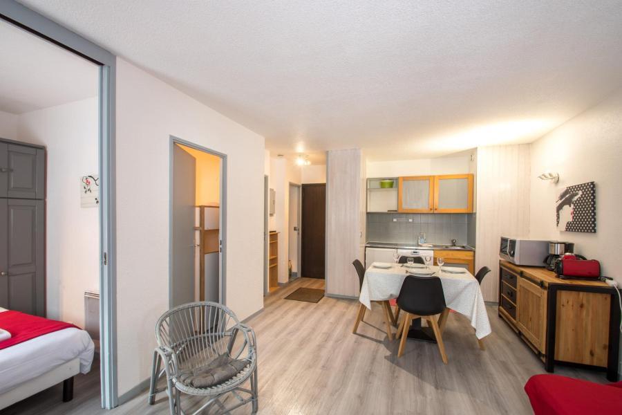 Location au ski Appartement 2 pièces cabine 2-4 personnes - Residence Le Triolet - Chamonix - Coin nuit