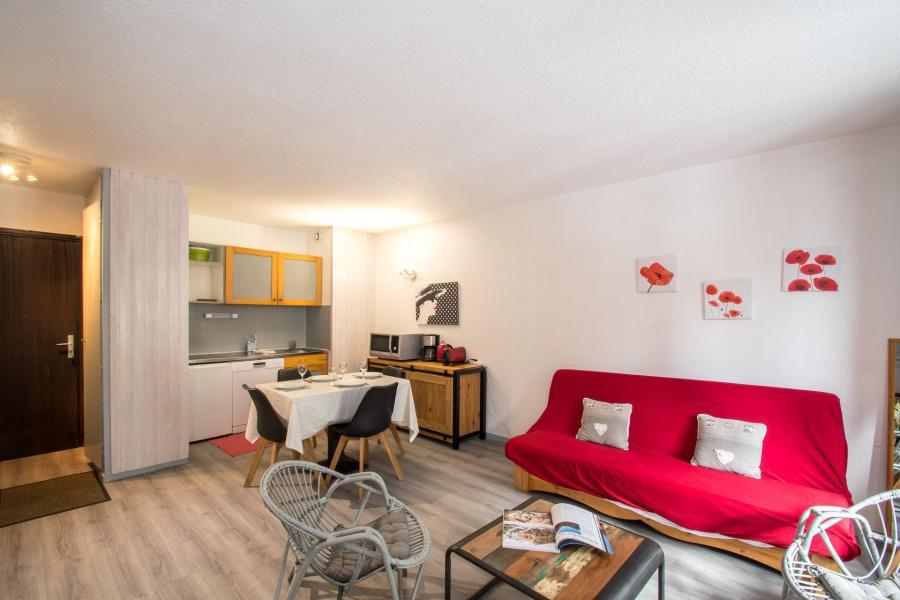 Location au ski Appartement 2 pièces cabine 2-4 personnes - Résidence le Triolet - Chamonix - Séjour