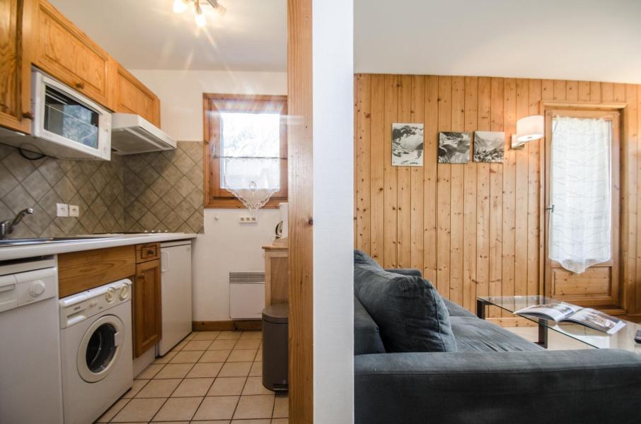 Location au ski Appartement 2 pièces 4 personnes - Residence Les Chalets Du Savoy - Colorado - Chamonix - Banquette