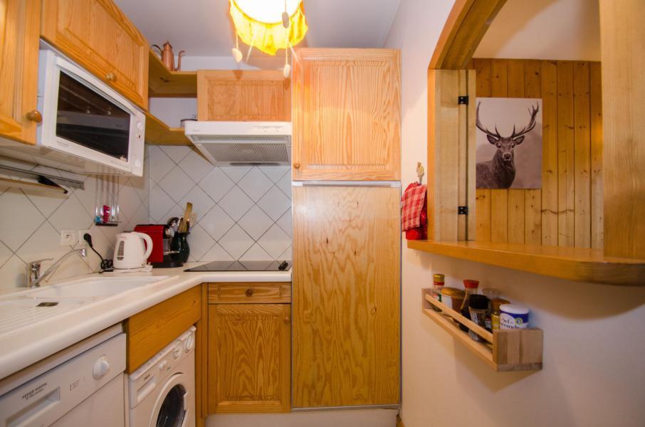 Location au ski Appartement 3 pièces 4-5 personnes (Simba) - Résidence les Chalets du Savoy - Kashmir - Chamonix - Cuisine