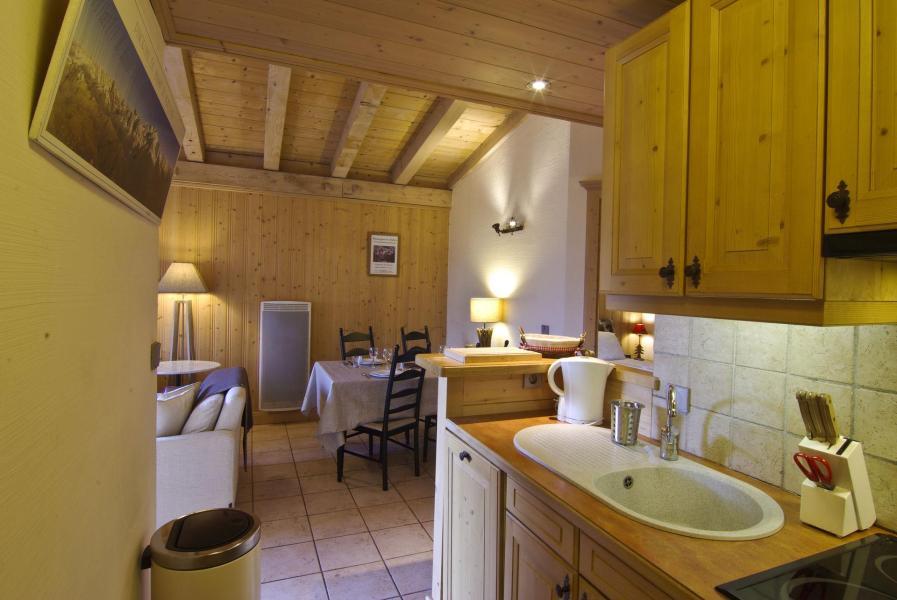 Location au ski Appartement 3 pièces 6 personnes (Volga) - Résidence les Chalets du Savoy - Kashmir - Chamonix - Cuisine