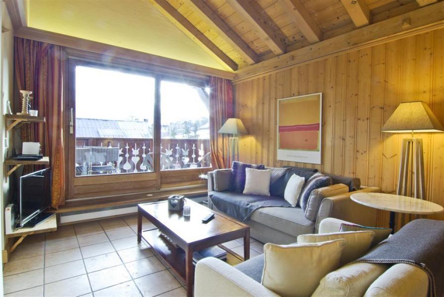Location au ski Appartement 3 pièces 6 personnes (Volga) - Résidence les Chalets du Savoy - Kashmir - Chamonix - Séjour