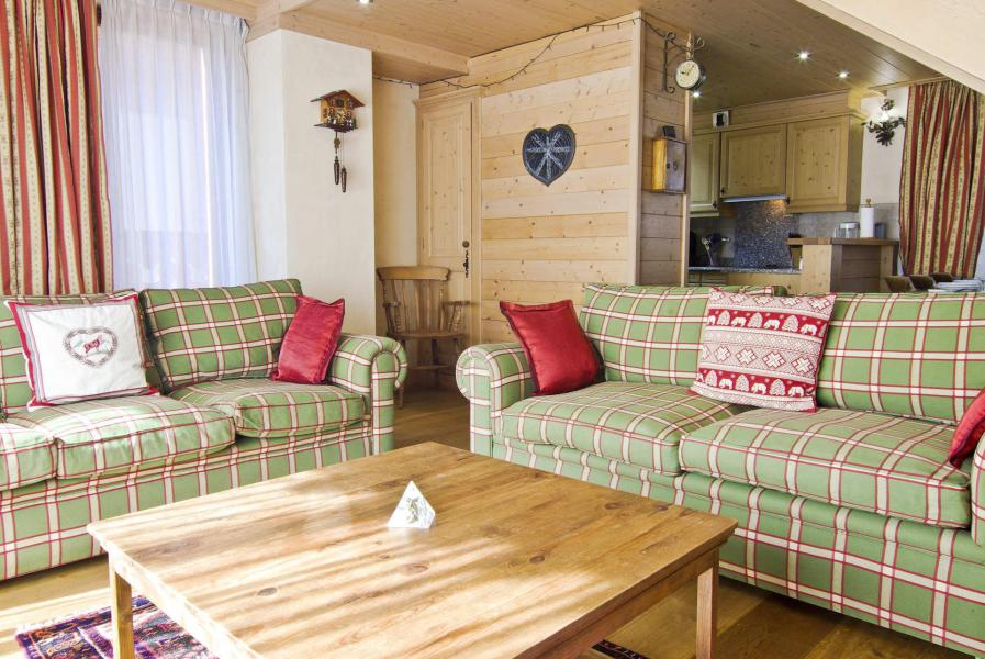 Location au ski Appartement duplex 4 pièces 6 personnes (Neva) - Résidence les Chalets du Savoy - Kashmir - Chamonix - Séjour