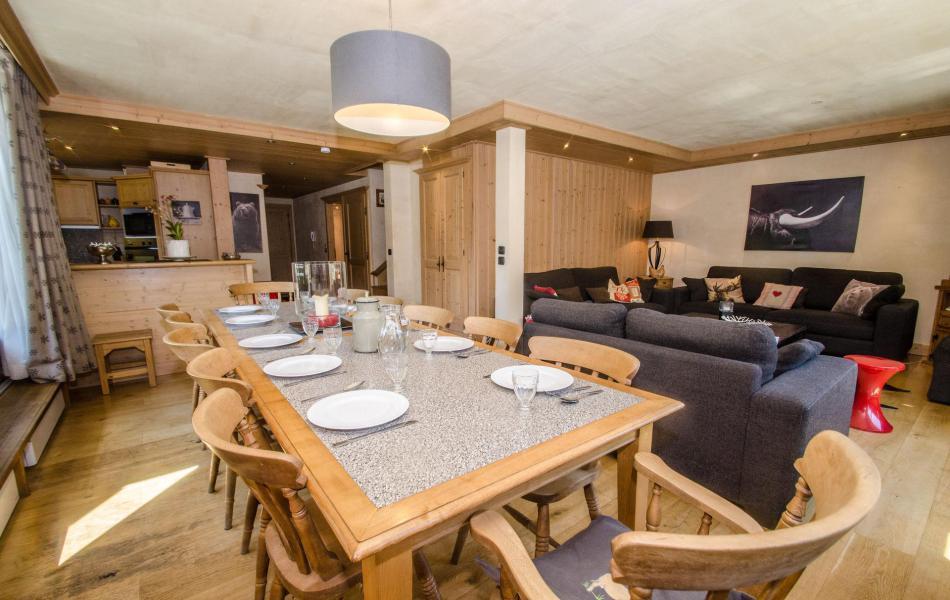 Location au ski Appartement duplex 6 pièces 12-12 personnes (Kashmir) - Residence Les Chalets Du Savoy - Kashmir - Chamonix - Séjour