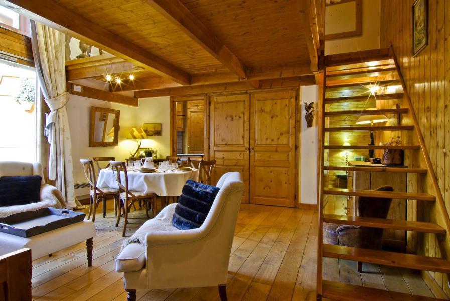 Location au ski Appartement 5 pièces 6-8 personnes - Résidence les Chalets du Savoy - Orchidée - Chamonix - Extérieur hiver