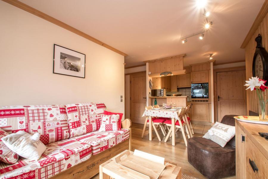 Location au ski Appartement 2 pièces 4 personnes - Résidence les Chalets du Savoy - Orchidée - Chamonix - Séjour
