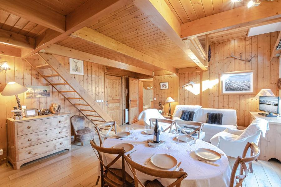 Location au ski Appartement 5 pièces 6-8 personnes - Résidence les Chalets du Savoy - Orchidée - Chamonix - Cuisine