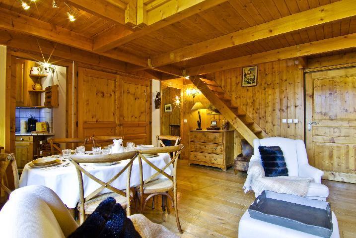 Location au ski Appartement 5 pièces 8-8 personnes - Residence Les Chalets Du Savoy - Orchidee - Chamonix - Mezzanine